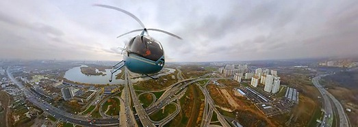 Тестовая съемка с воздуха, Москва - AirPano.ru • 360 Degree Aerial Panorama • 3D Virtual Tours Around the World