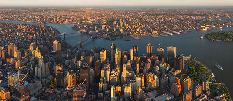Grand tour of Manhattan, New York, USA - AirPano.com • 360� Aerial Panorama • 3D Virtual Tours Around the World