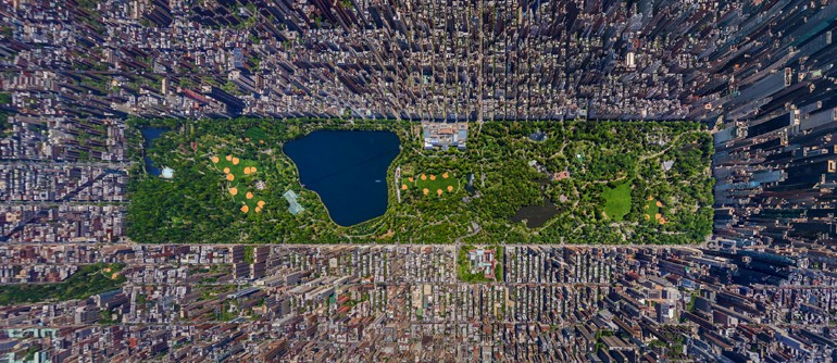 Day view of Manhattan, New York, USA - AirPano.com • 360° Aerial Panoramas • 3D Virtual Tours Around the World