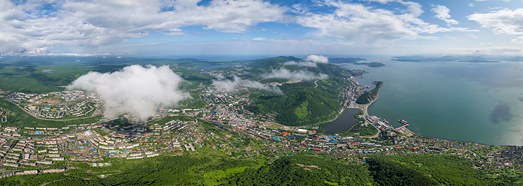 Петропавловск-Камчатский - AirPano.ru • 360 Degree Aerial Panorama • 3D Virtual Tours Around the World