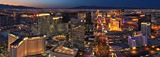 Las Vegas at Dusk and Night  • AirPano.com • 360 Degree Aerial Panorama • 3D Virtual Tours Around the World