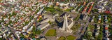 Reykjavik, Iceland • AirPano.com • 360 Degree Aerial Panorama • 3D Virtual Tours Around the World