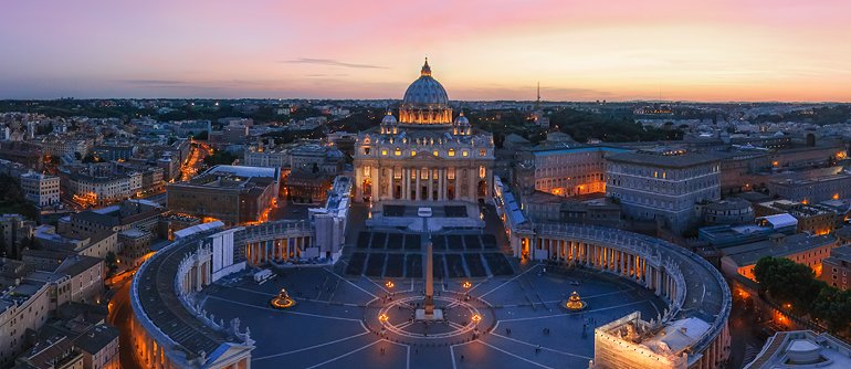 Vatican City State - AirPano.com • 360� Aerial Panorama • 3D Virtual Tours Around the World