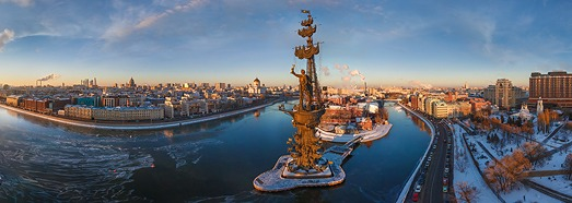 Москва, Россия - AirPano.ru • 360 Degree Aerial Panorama • 3D Virtual Tours Around the World