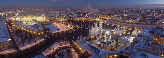 Зима в центре Москвы - AirPano.ru • 360 Degree Aerial Panorama • 3D Virtual Tours Around the World