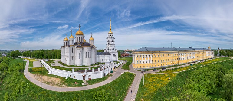 Golden Ring of Russia, Vladimir - AirPano.com • 360° Aerial Panoramas • 360° Virtual Tours Around the World